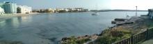 Mar Abierto - Pensar que unos pocos barcos fondeados frente la playa contaminan