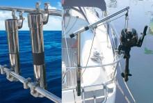 Mar Abierto - La estructura del pescante Magic se desmonta fácilmente de su sopo
