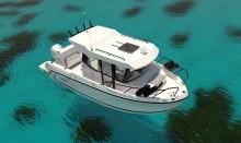 Mar Abierto - Moderna y atractiva estética 'nórdica' para la 705 Pilothouse de Q