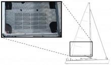 Mar Abierto - La superficie de Solar Cloth System que necesitará un 40 pies en e