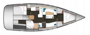 Mar Abierto - Dos o tres camarotes dobles y dos o tres cabinas de baño en el All