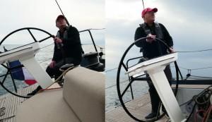 Mar Abierto - El asiento lateral en forma de teja facilita encontrar un punto de