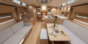 Mar Abierto - La opción de cocina en doble módulo, con un pasillo central de acc