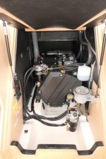 Mar Abierto - El motor del OC 46.1 es el Yanmar de 57 o de 80 CV (en la foto) co
