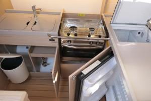 Mar Abierto - La capacidad de estiba y la funcionalidad de espacios en la cocina