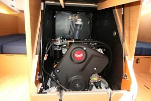 Mar Abierto - El motor estándar es un Yanmar de 40 CV, con opción al de 45 CV. E