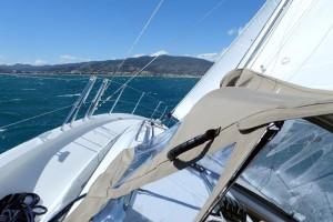 Mar Abierto - En las rachas más fuertes pudimos comprobar la alta estabilidad y