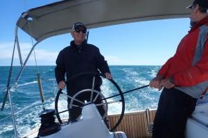 Mar Abierto - La estabilidad en rumbos portantes también es muy buena y el SO 41