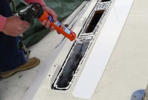 La fuerza adherente de los modernos selladores permite prescindir de los tornill