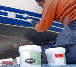 Mar Abierto - Las pinturas de acabado Nautix existen en distintos componentes y