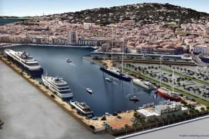 Mar Abierto - Los grandes yates han estrenado su dársena en Sète este verano 201