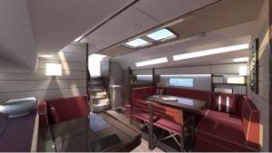 Mar Abierto - Los interiores del Swan 48 se proponen con tres estilos de decorac