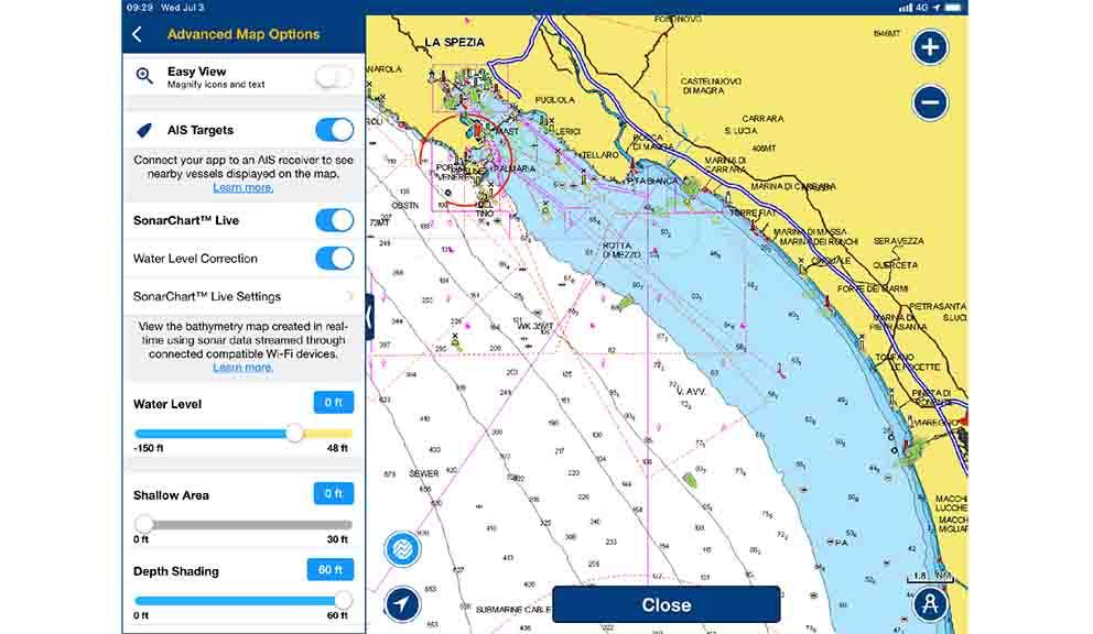 Por fin!: AIS en el Navionics Boating app | Mar Abierto