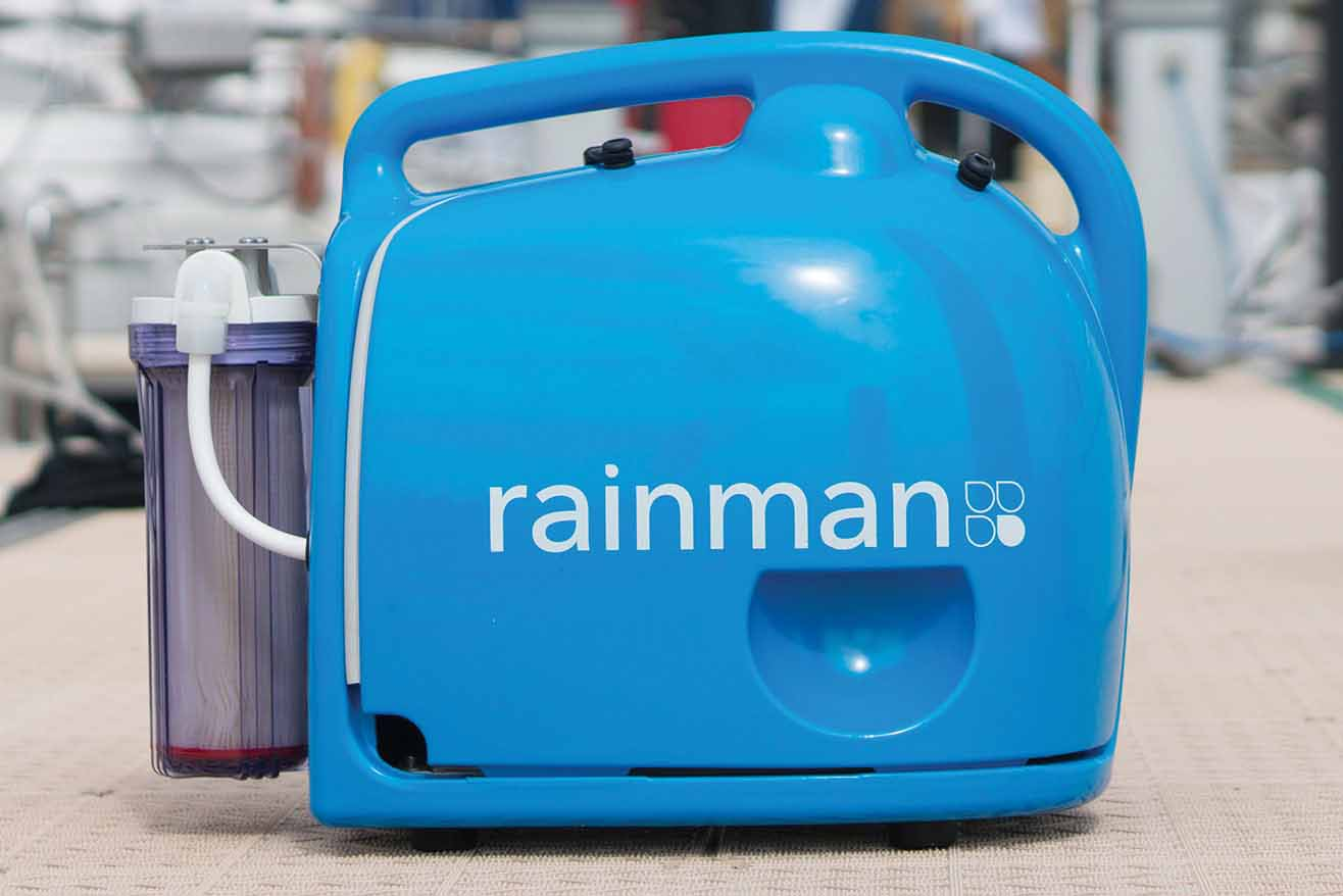 Rainman la potabilizadora de agua salada por fin en for Mantenimiento piscina agua salada